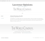 Lawrence Opinions
